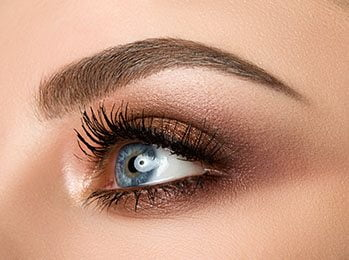 eyebrow shape and tinting London